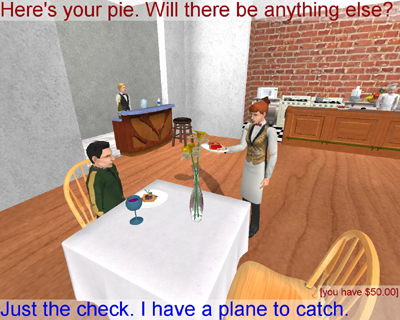 The Restaurant Game
