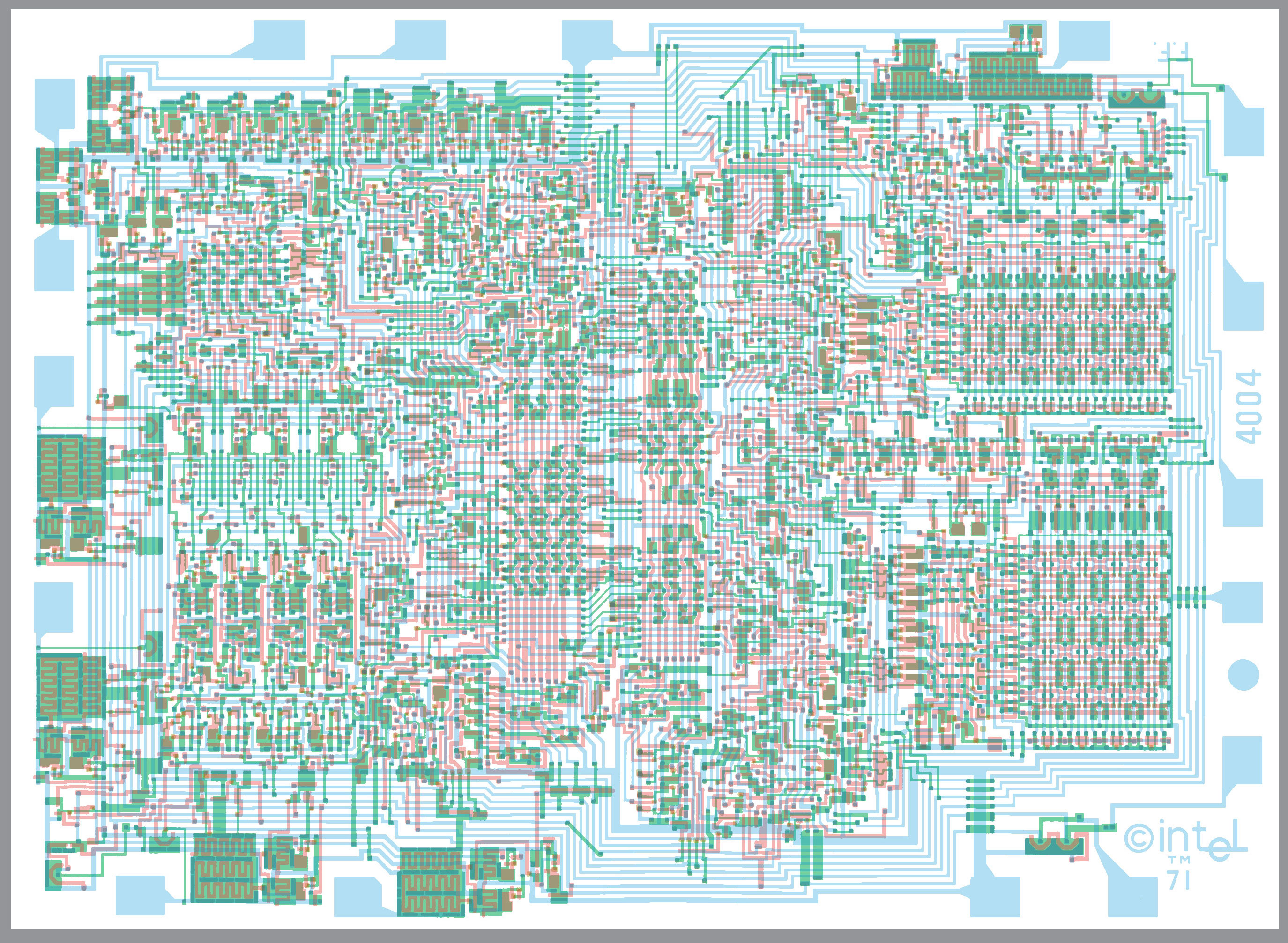 Microprocessor Schematic Diagram - WIRE Center •