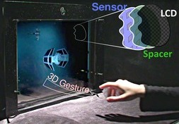 BiDi Screen A Thin, Depth-Sensing LCD for